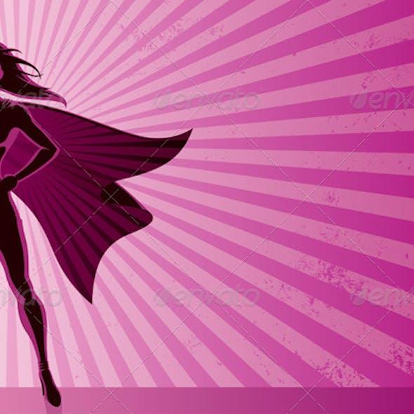 Super Heroine Background