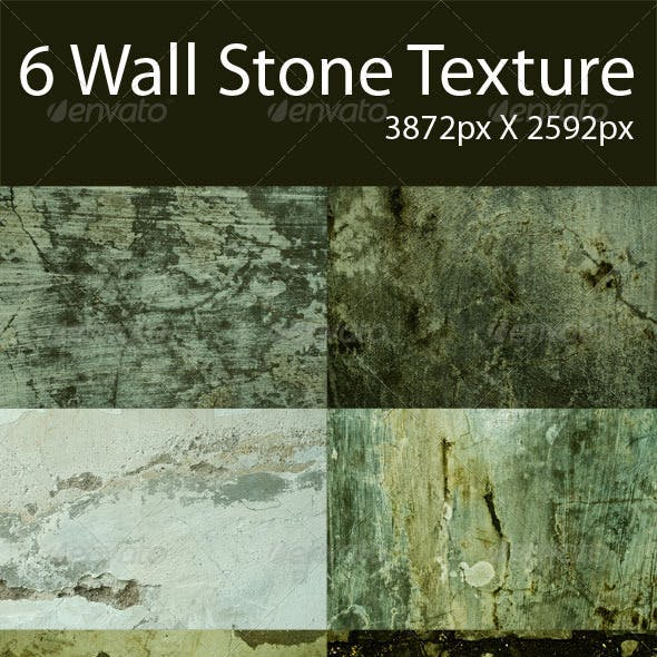 6 Wall Stone Texture