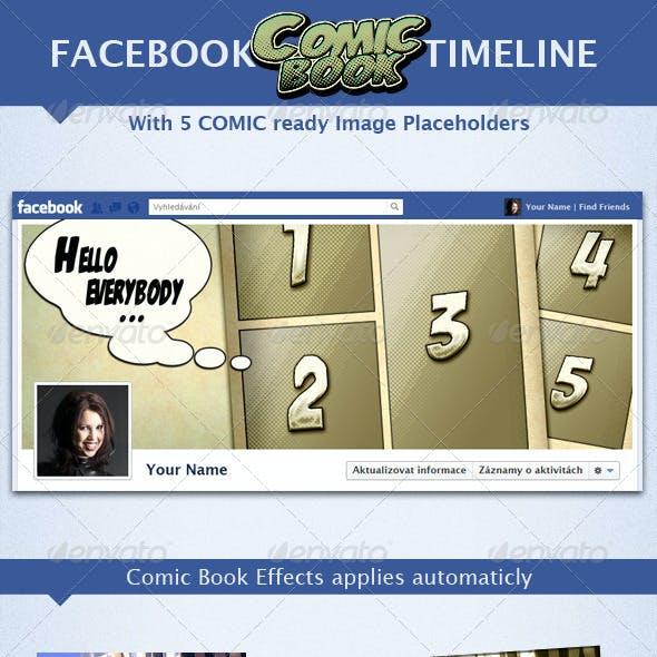 Facebook Comic Book Timeline