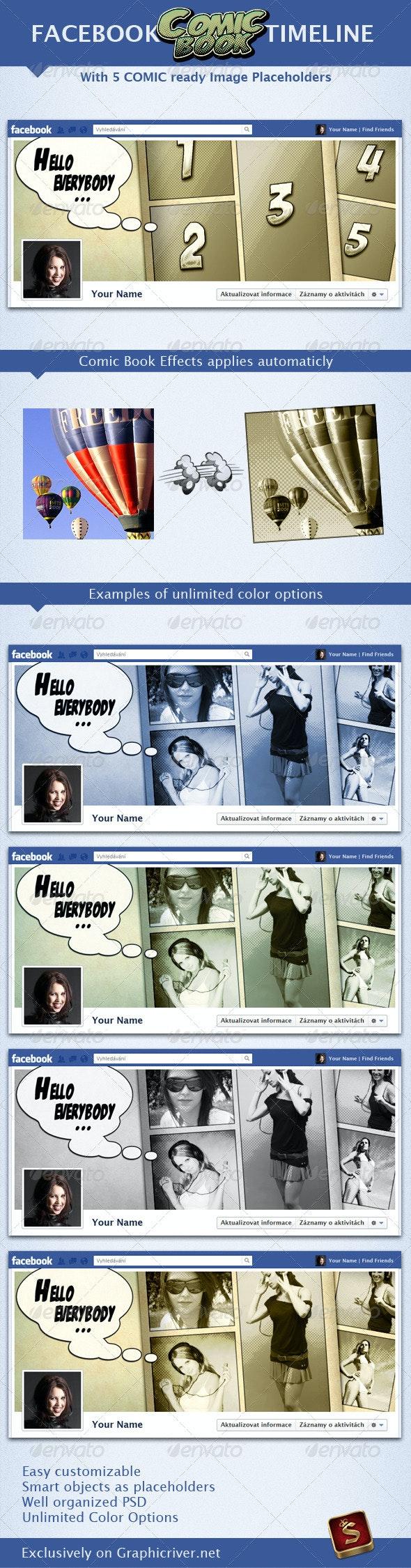 Facebook Comic Book Timeline - Facebook Timeline Covers Social Media