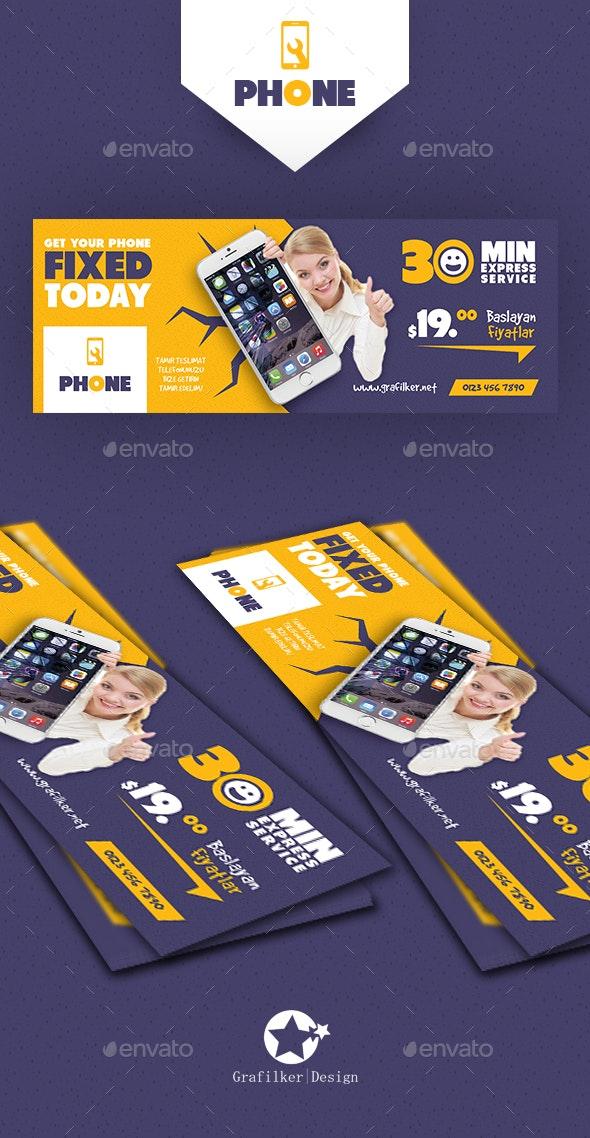 Phone Repair Cover Templates - Facebook Timeline Covers Social Media