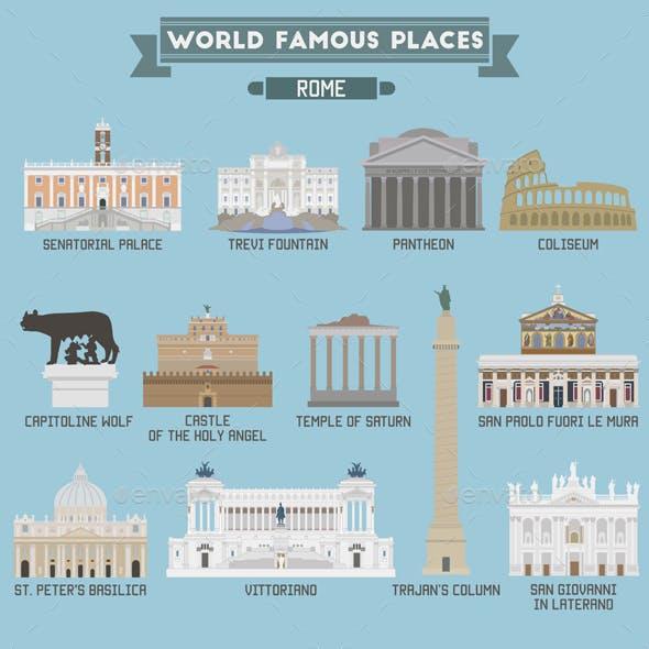 World Famous Place Rome