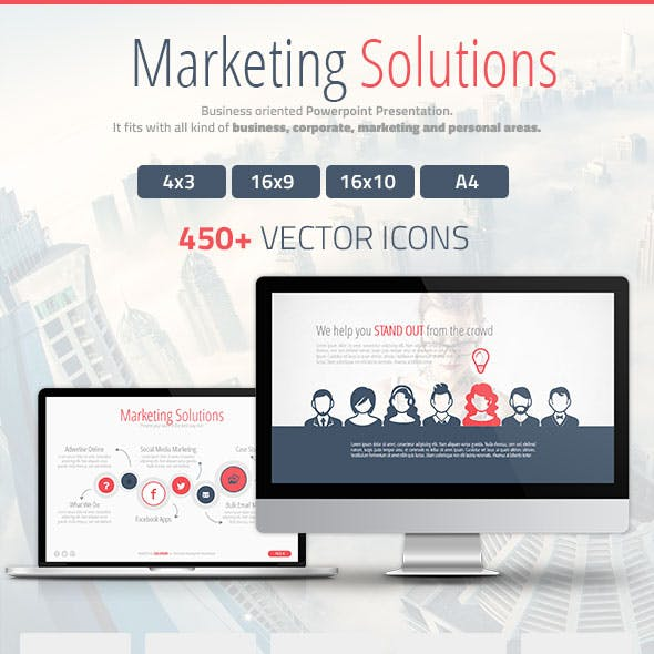 Marketing Solutions Powerpoint Presentation