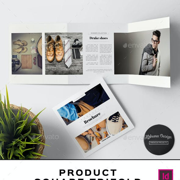 Product Square Trifold