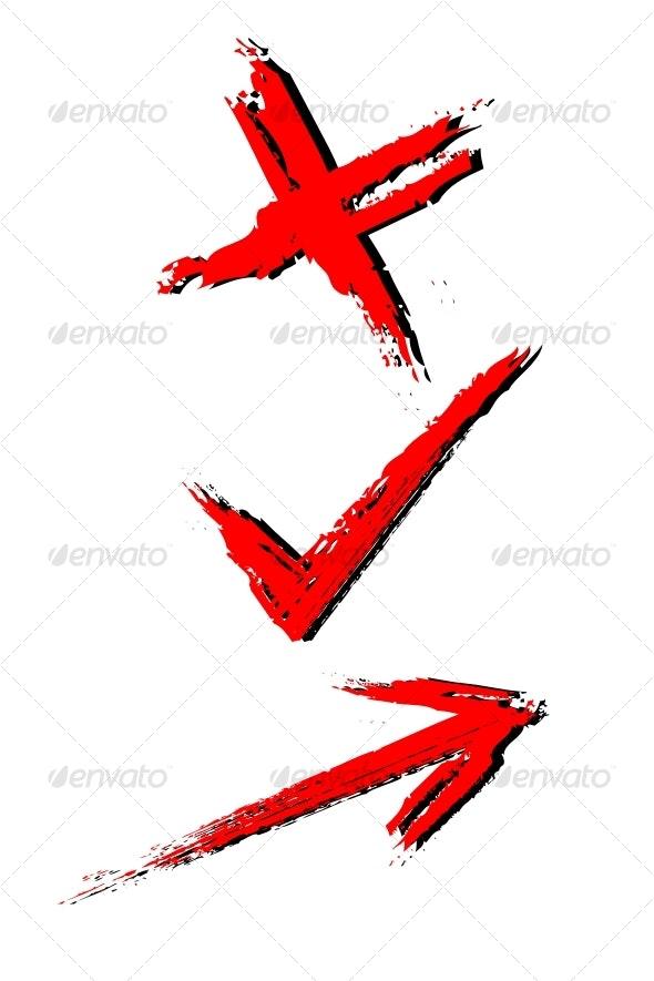 Marks - Decorative Symbols Decorative
