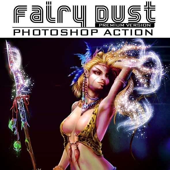 Fairy Dust Photoshop Action