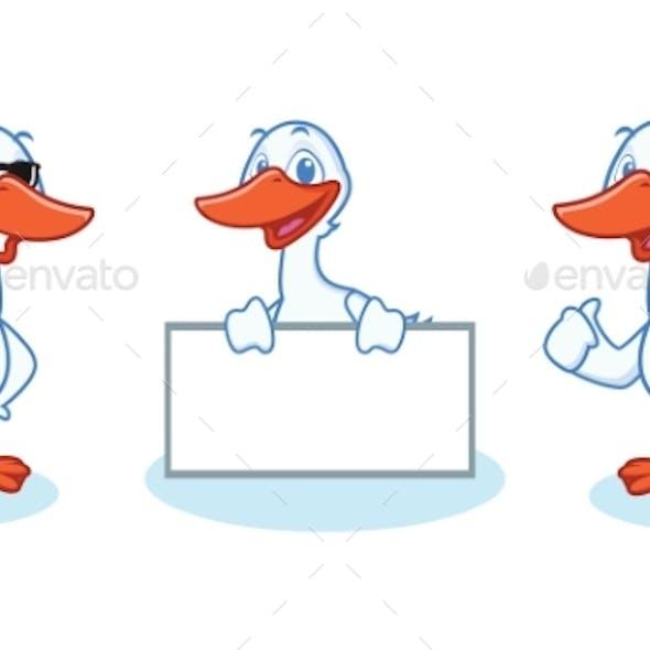 Goose Mascot