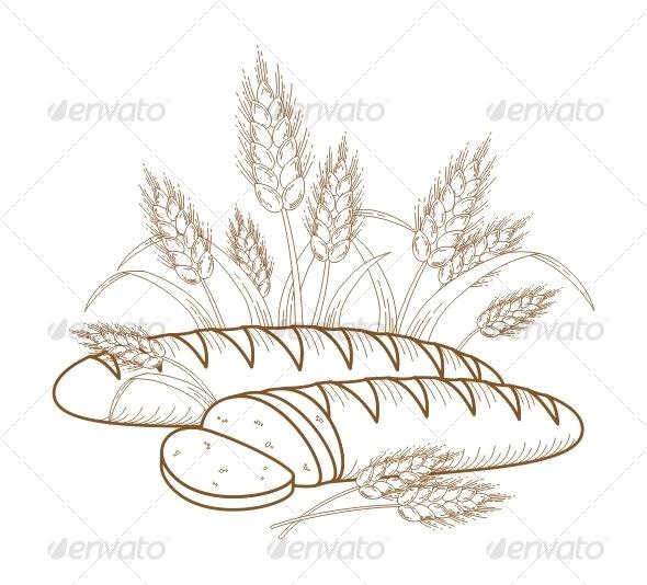 Bread - Food Objects