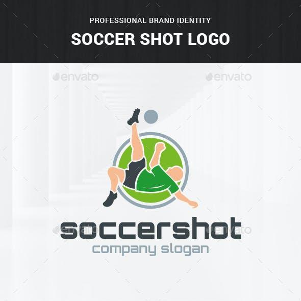 Soccer Shot Logo Template