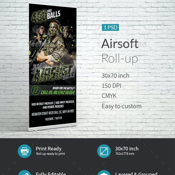 Airsoft Event Roll-up Template