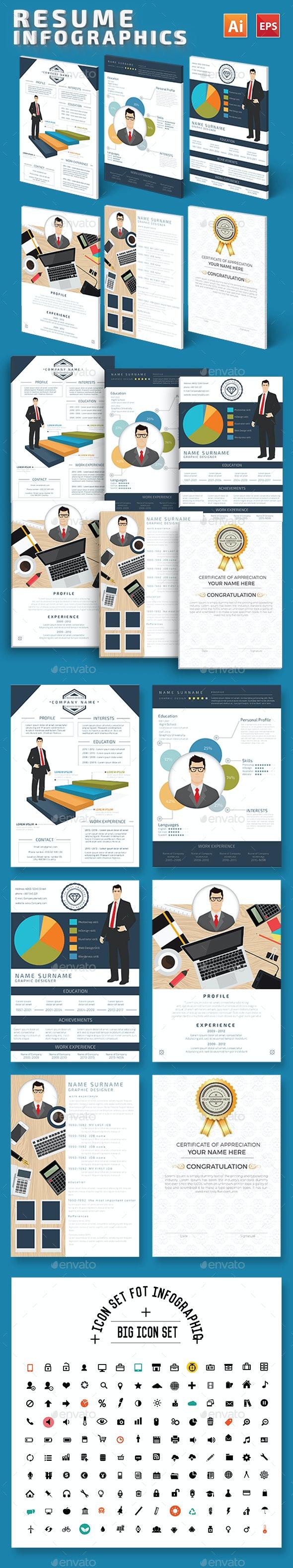 Resume Infographics Design - Infographics