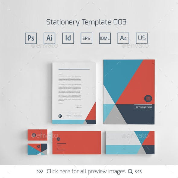 Stationery Corporate Identity 003