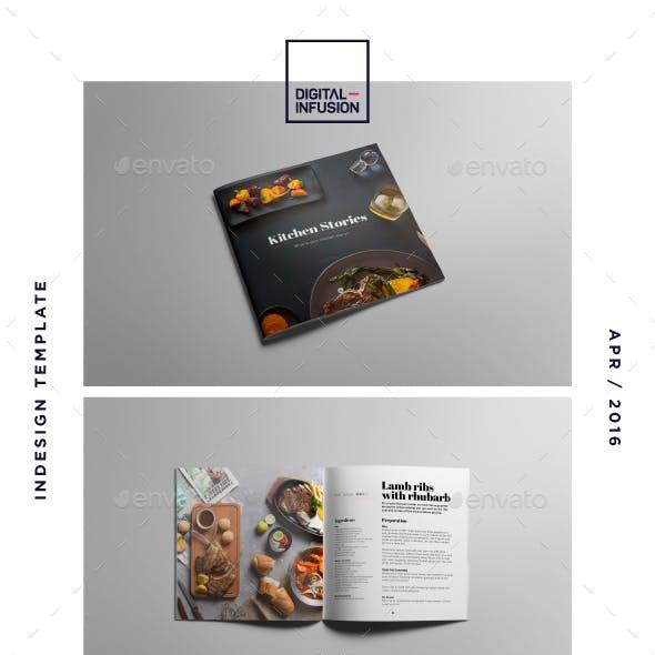 Recipe / Cookbook Square Bochure | Kitchen Stories