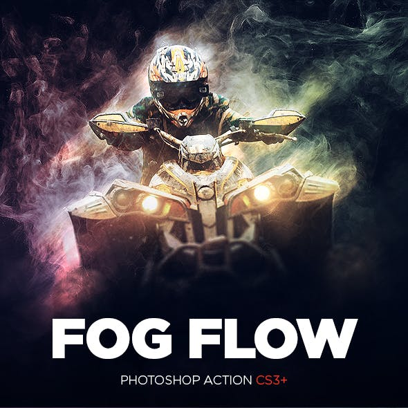 Fog Flow Photoshop Action CS3+