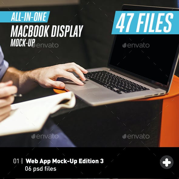 Laptop Macbook Pro Mock-Up Bundle