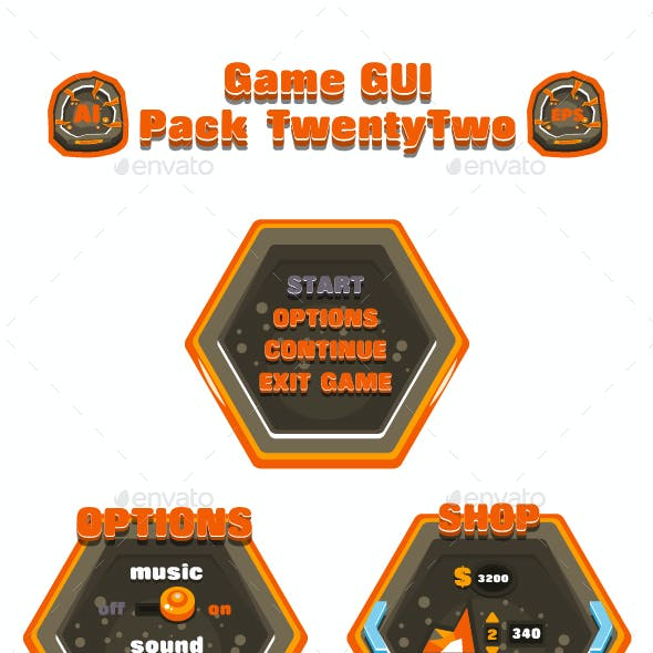 Game GUI Pack TwentyTwo