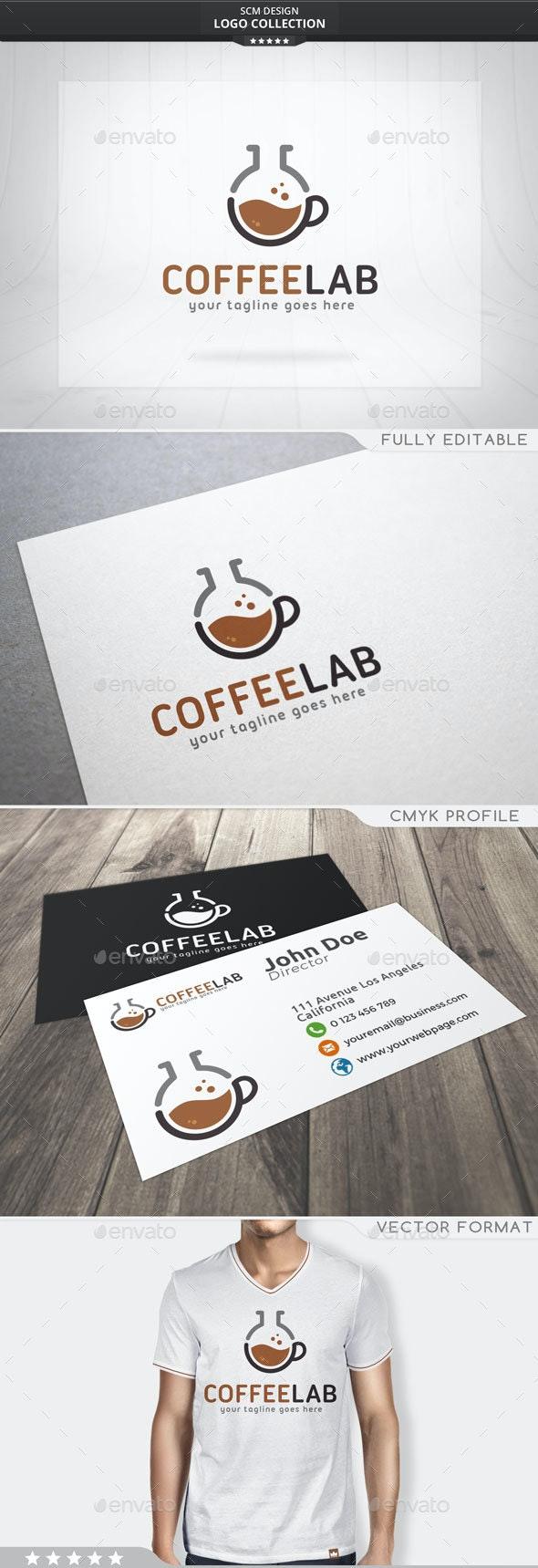 Coffee Lab Logo - Symbols Logo Templates
