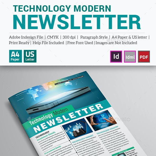 Technological Modern Newsletter (12 Pages)