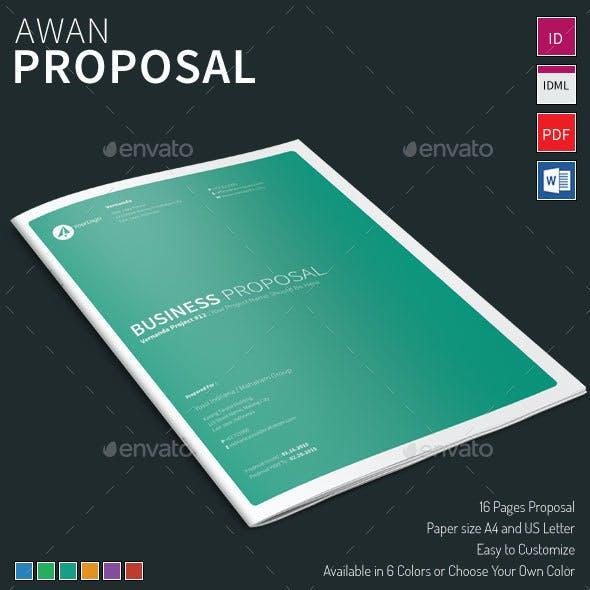 Awan - Proposal Template