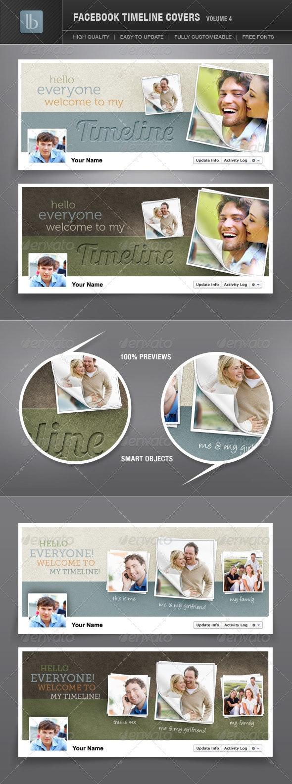 Facebook Timeline Covers | Volume 4 - Facebook Timeline Covers Social Media