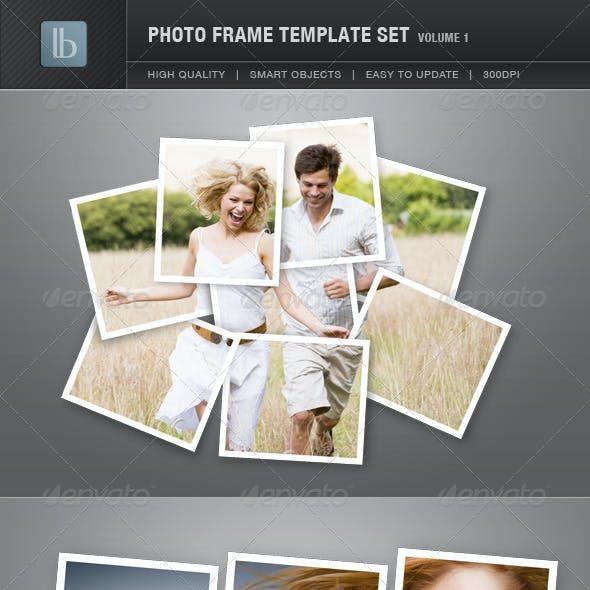 Photo Frame Template Set | Vol 1