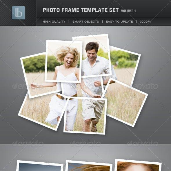 Photo Frame Template Set | Vol 1
