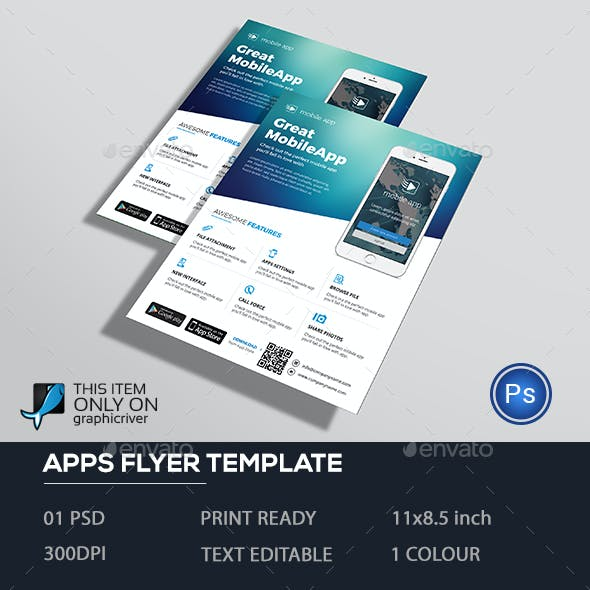 Mobile Apps Flyer