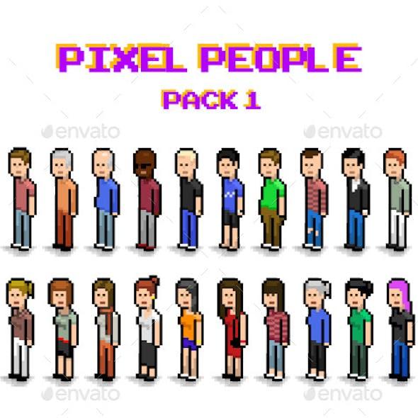 Pixel Art People Pack 1