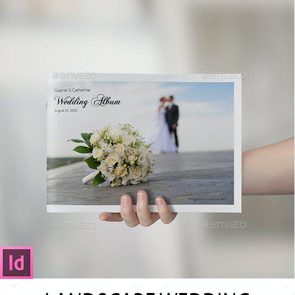Landscape Wedding Album