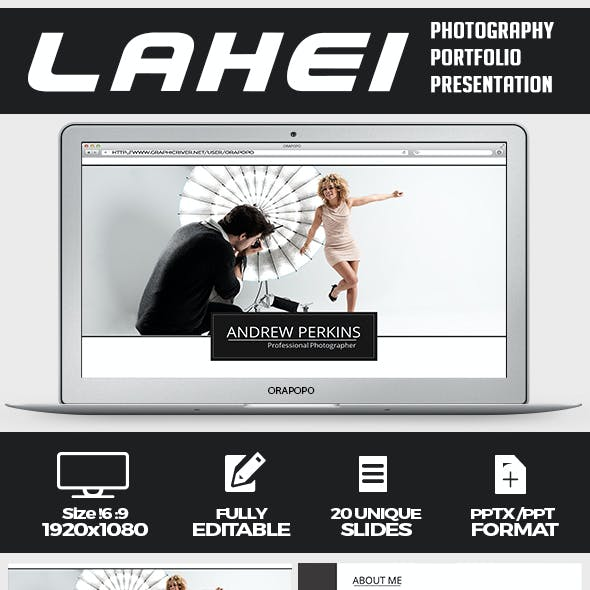 Lahei ~ Photography Portfolio Presentation