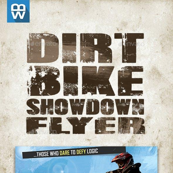 Dirt Bike Showdown Flyer