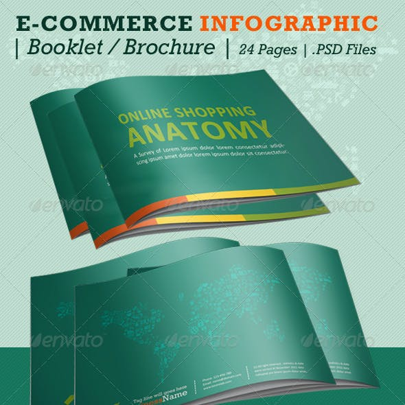E-commerce Infographic Booklet - 24 Pages