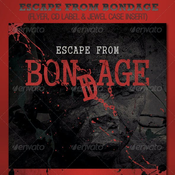 Escape from Bondage Church Flyer and CD