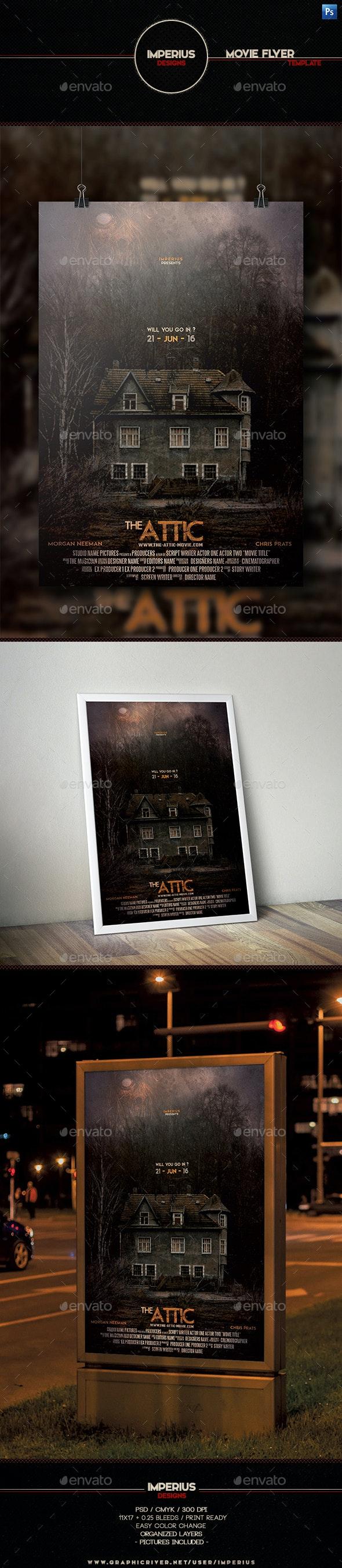 The Attic Movie Flyer
