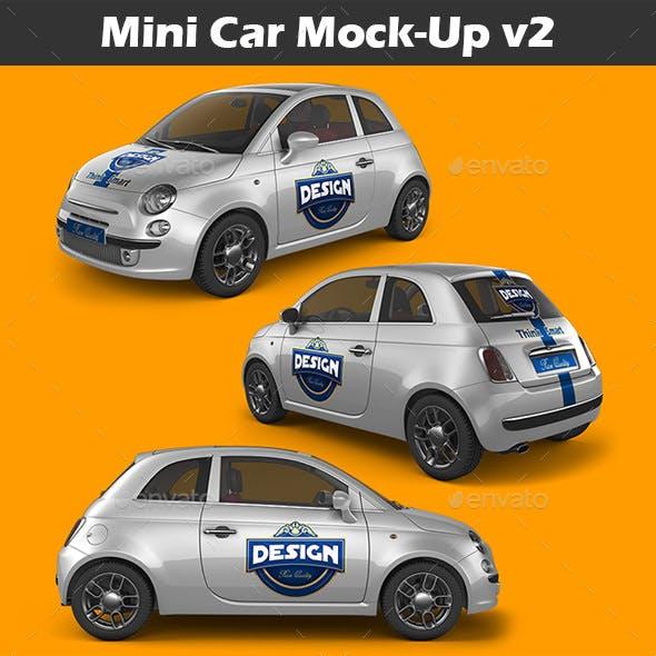 Mini Car Mock-Up v2