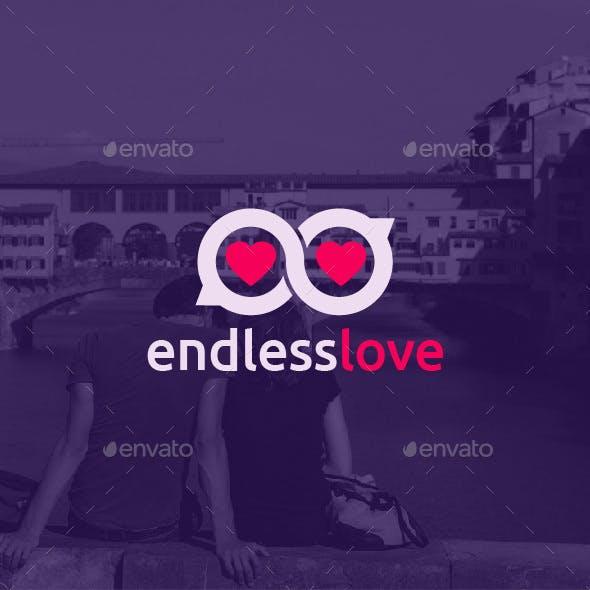Endless Love Logo Template