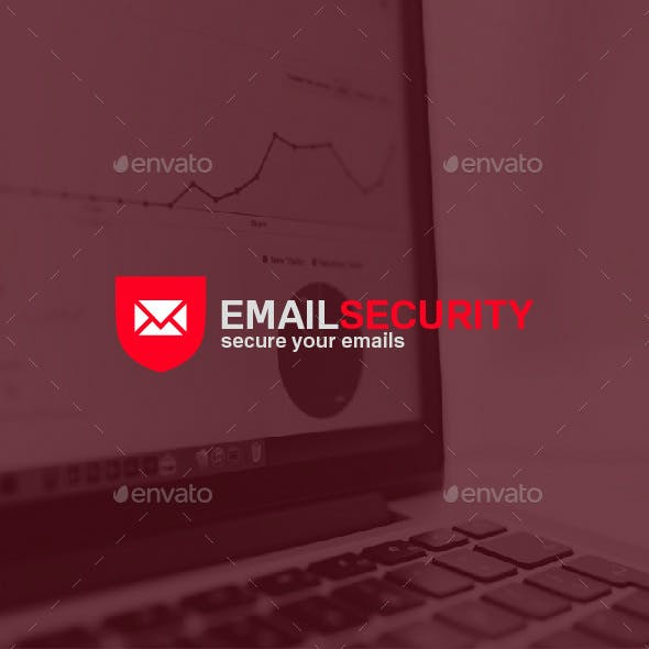 Email Security Logo Template