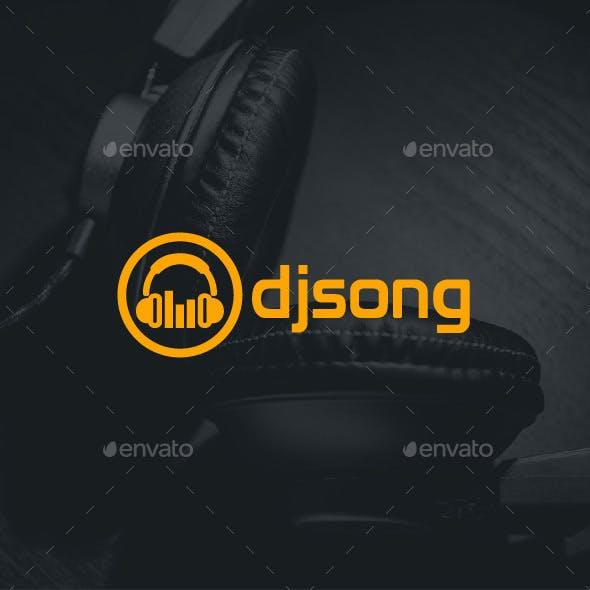 DJ Song Logo Template