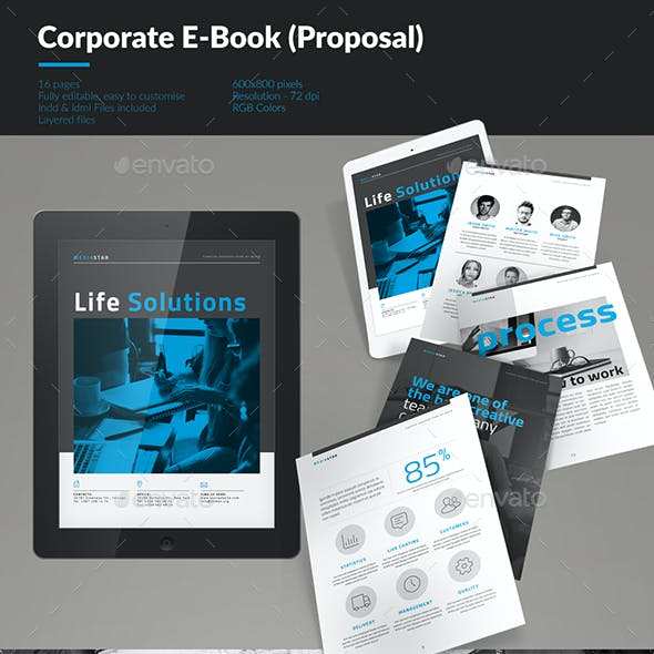 Corporate E-book Template Vol.5