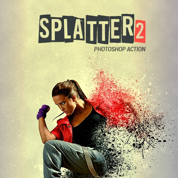 Splatter 2 - Photoshop Action