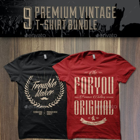 Premium T-shirt Design Bundle