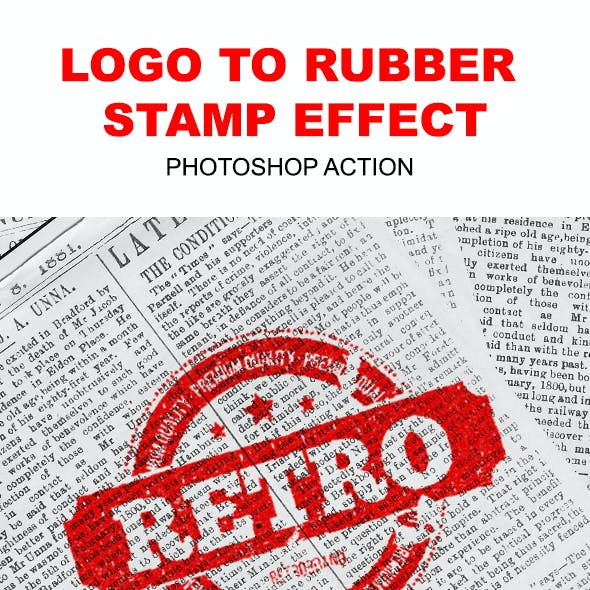 Logo to Rubber Stamp
