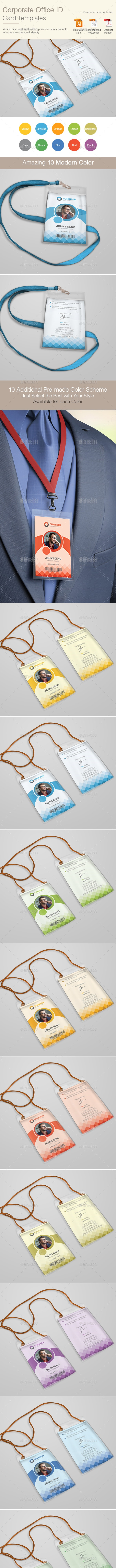 Corporate ID Card - Miscellaneous Print Templates