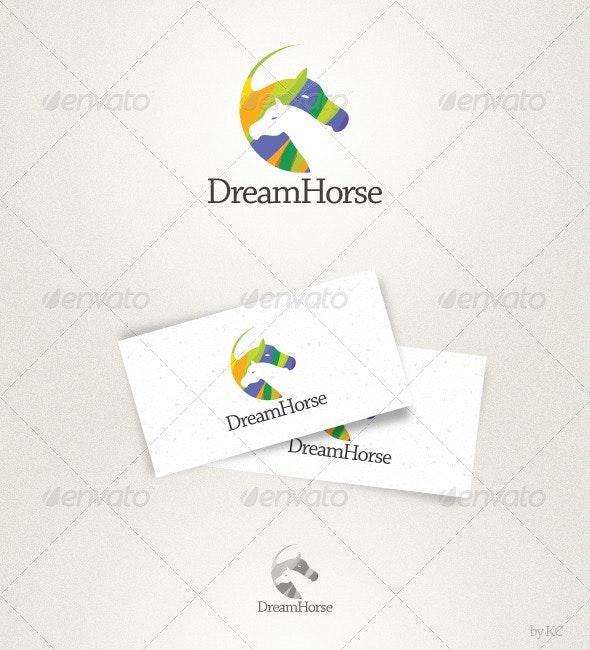 Dream Horse Logo - Animals Logo Templates