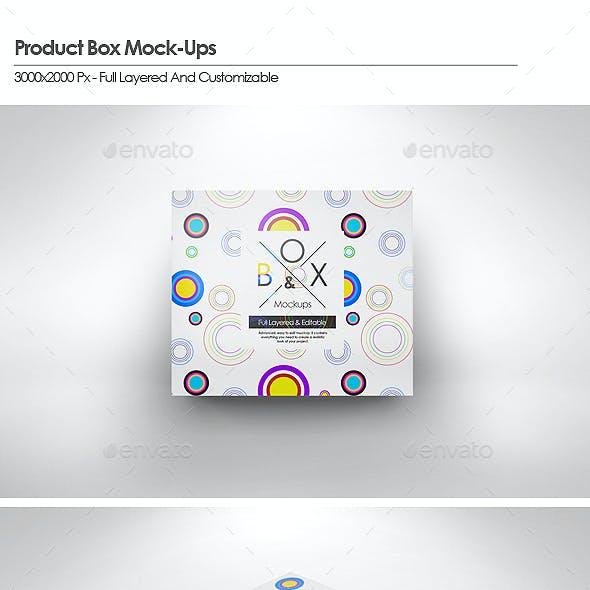 Product Box Mock-Ups