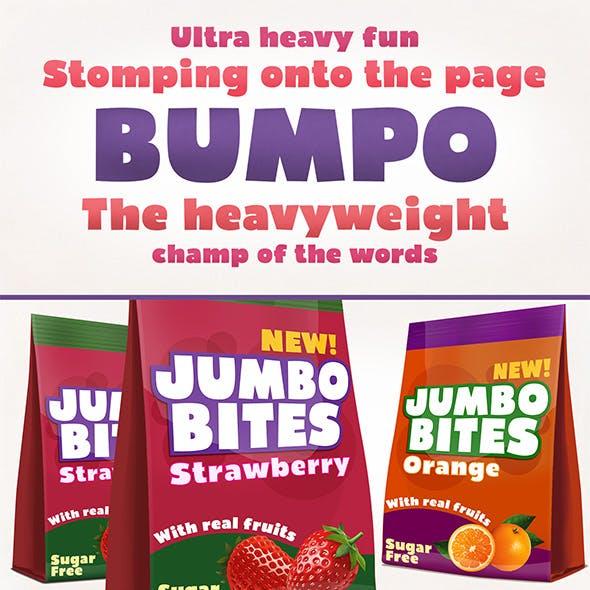 Bumpo Typeface
