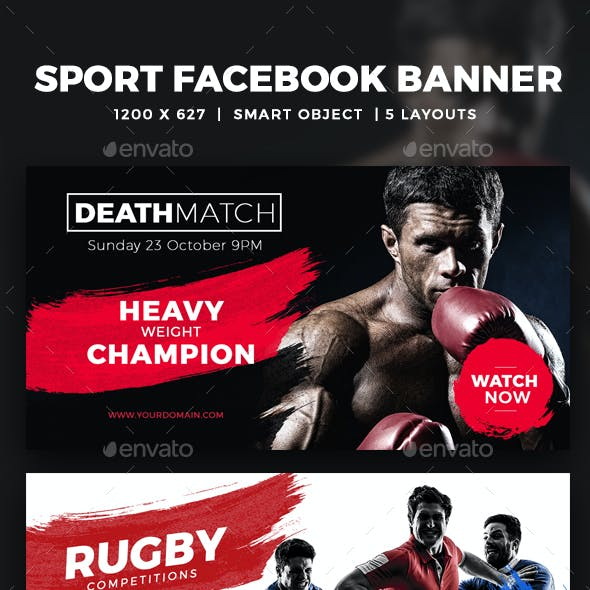 Facebook Sports Ads Post Banner