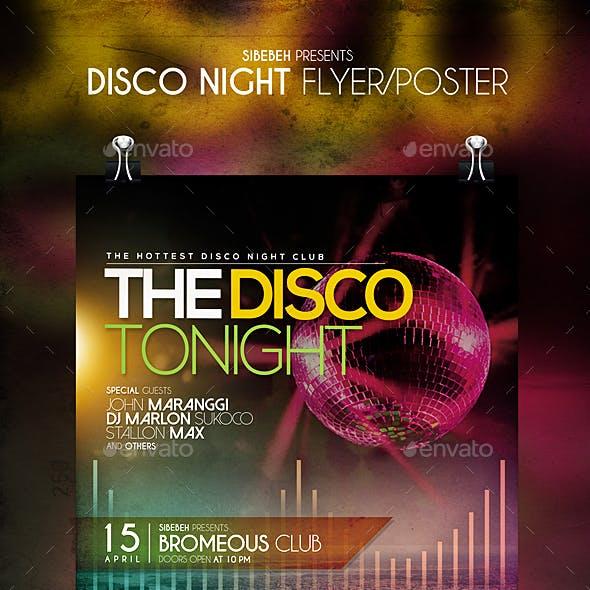 Disco Night Flyer / Poster