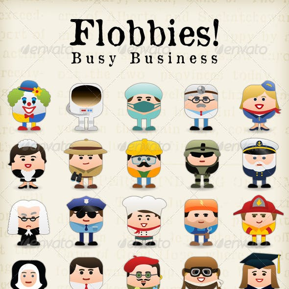 Flobbies! Busy Business