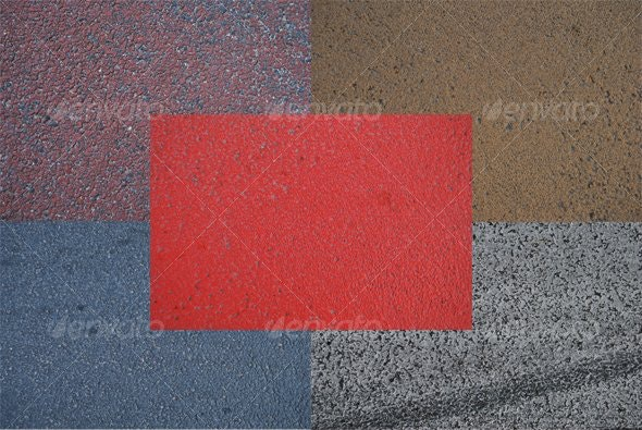 Colored Road - Miscellaneous Textures